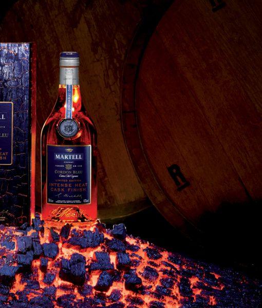 Quảng bá rượu Martell Cordon Bleu Intense HeatCask Finish
