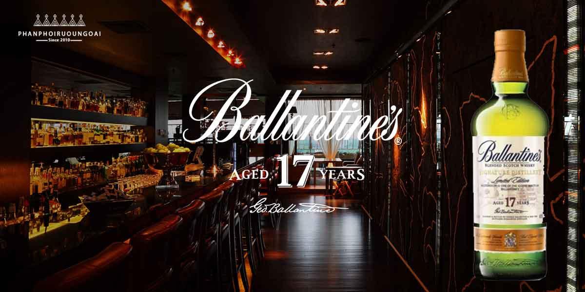 Ấn tượng và lịch lãm với rượu Ballantine's 17 Limited Edition