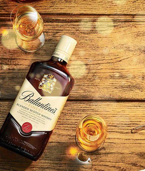 Ảnh chụp rượu Ballantine's Finest 750 ml