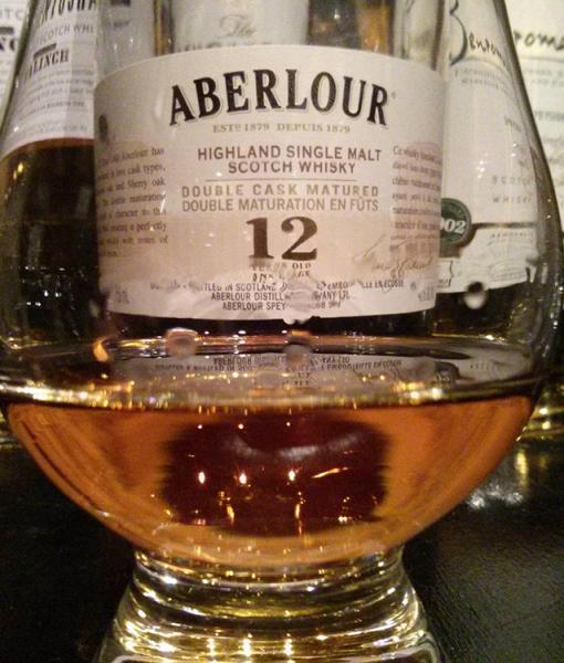 Ảnh quảng cáo rượu Aberlour 12 năm