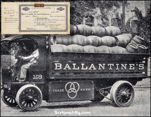lịch sử rượu ballantine's 17
