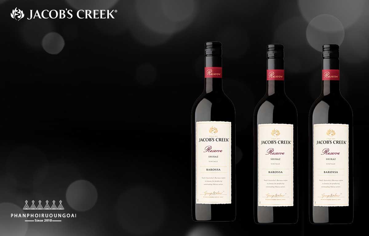 Hình ảnh rượu vang Jacob's Creek Reserve Shiraz