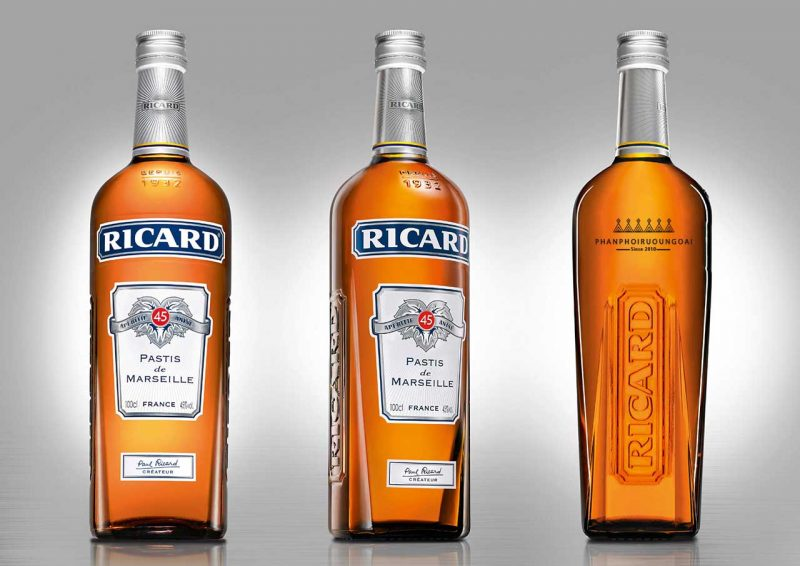 Bộ sưu tập các sản phẩm rượu mùi Ricard