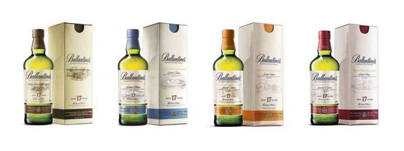 Các loại rượu Ballantine's 17 năm tuổi