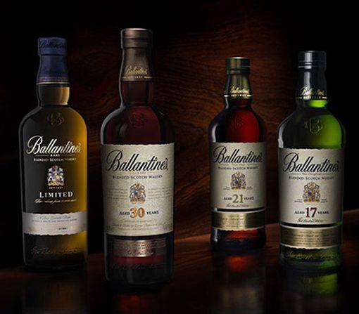 Các loại rượu ballantine's