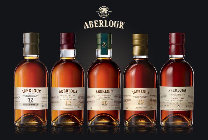 Bộ sưu tập các loại whisky của nhà Aberlour