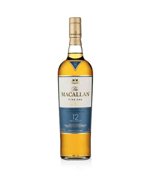 Chai rượu Macallan 12 Fine Oak