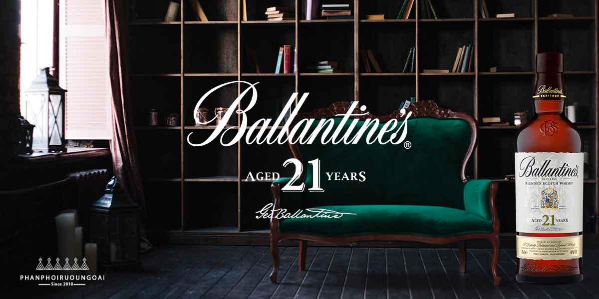 Đẳng cấp với rượu Ballantine's 21 năm