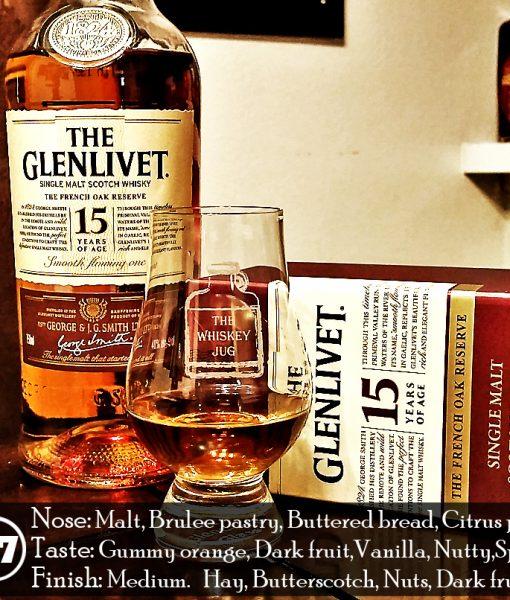 đánh giá rượu glenlivet 15