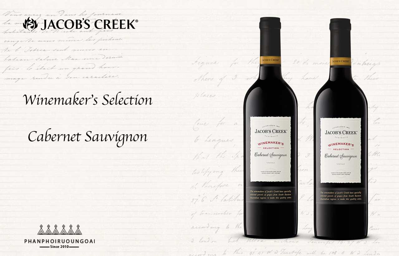 Giới thiệu về rượu vang jacob's creek cabernet sauvignon
