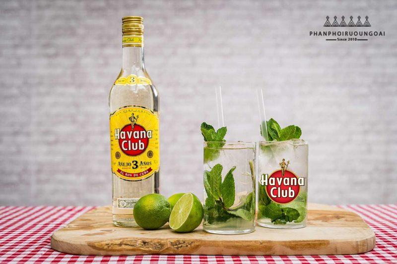Havana Club 3 tuyệt hảo cho một ly Mojito chanh