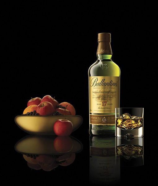 hình ảnh rượu ballantine 17 năm