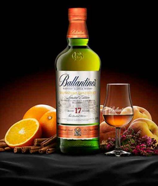 Hương vị tuyệt hảo của rượu Ballantine's 17 Limited Edition
