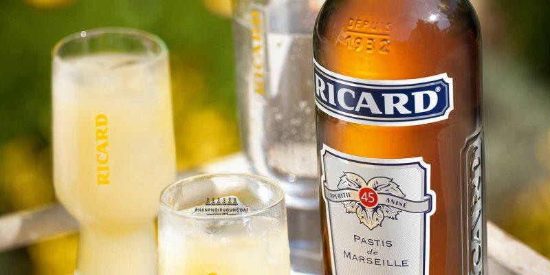 ly cocktail tuyệt hảo với rượu Ricard