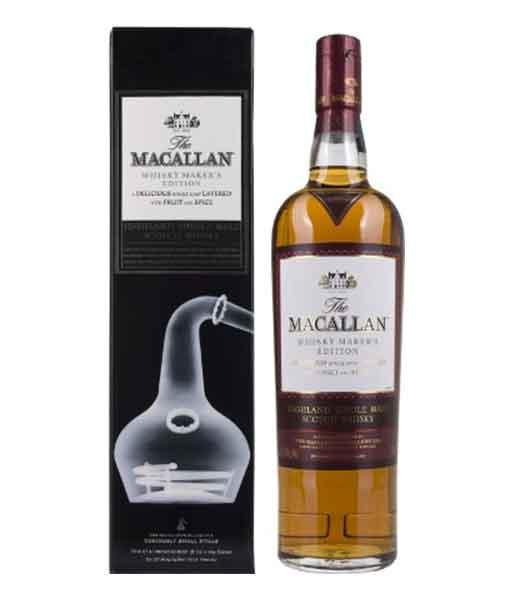 Rượu Macalllan Whisky Maker's Edition và hộp giấy