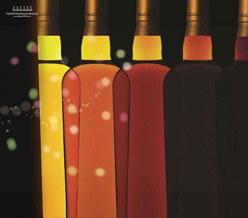 Màu sắc tự nhiên của dòng Rượu Macallan 1824 Masters Series