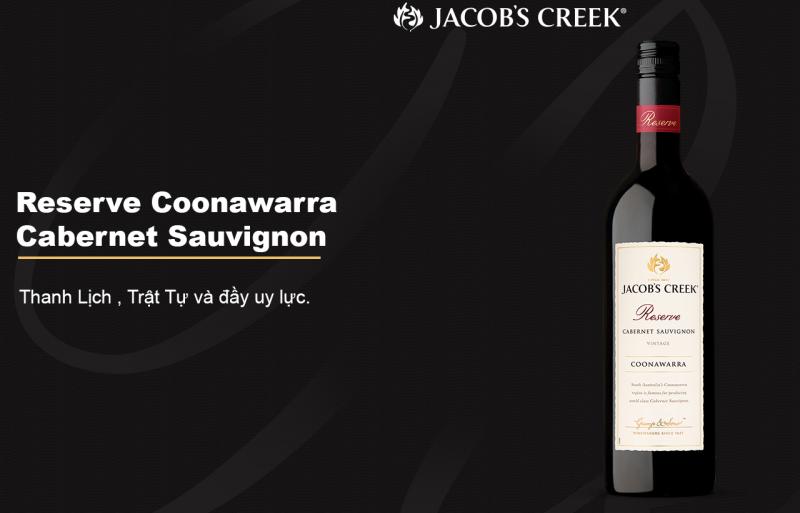 Rượu Jacob's Creek Coonawarra Cabernet Sauvignon