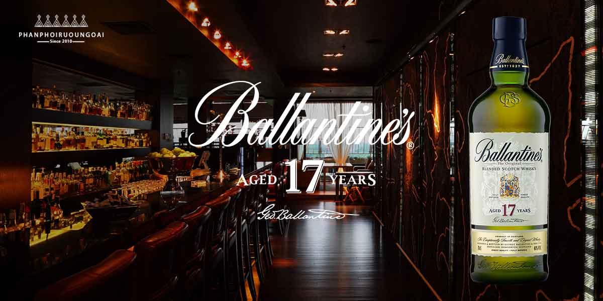 Rượu Ballantine's 17 năm tuyệt hảo để chia sẻ với bạn bè