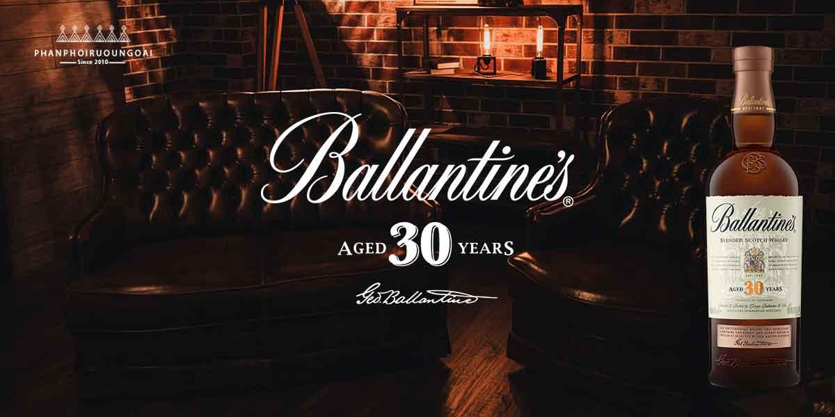 Rượu Ballantine's 30 năm - whisky sang trong và đắt tiền