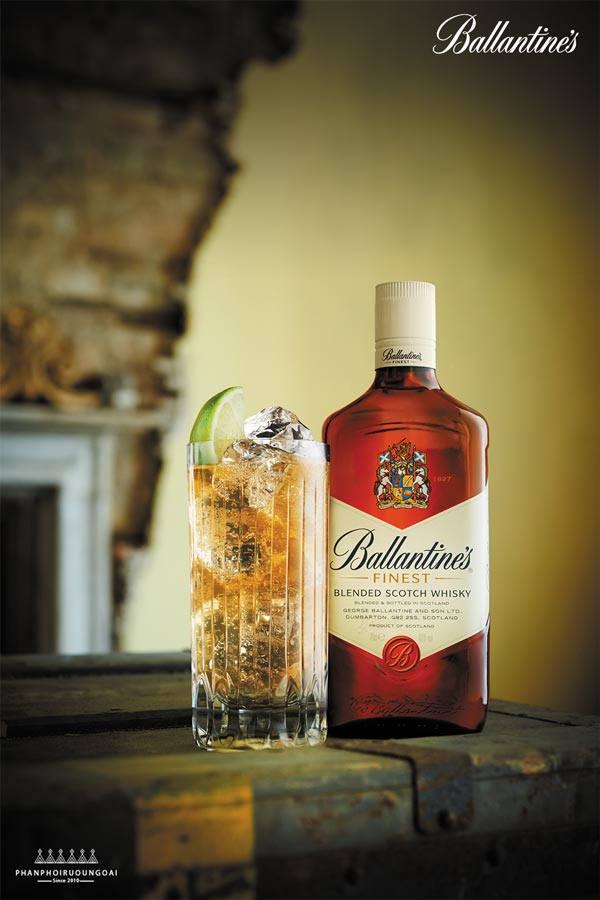 Rượu Ballantine's Finest - Blended Scotch Whisky