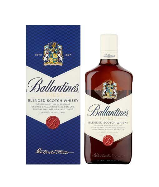 Rượu Ballantine's Finest 700 ml và hộp giấy
