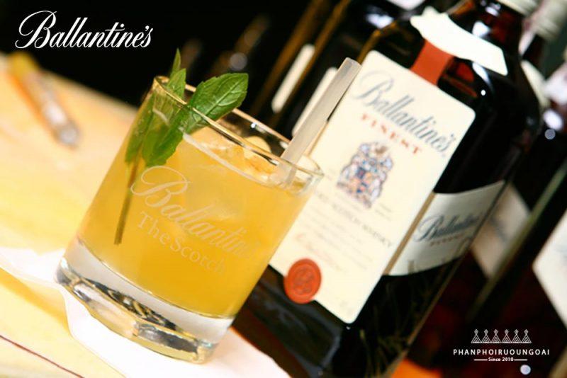 Rượu Ballantine's Finest cũng thích hợp để tạo ra các ly cocktail tuyệt hảo