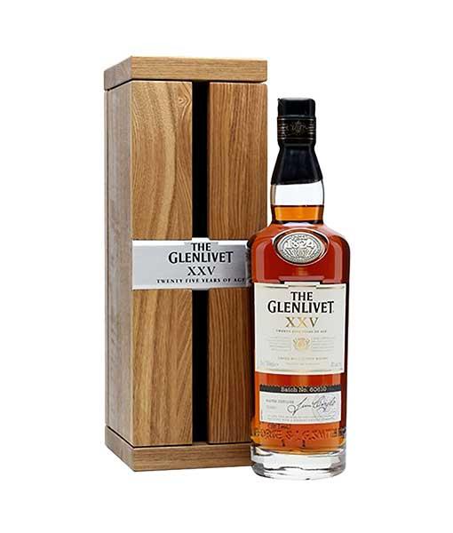 Rượu Glenlivet 25 năm hay Rượu Glenlivet XXV