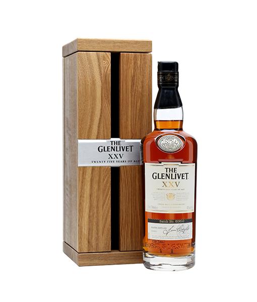 nhà phân phối rượu glenlivet 25 năm