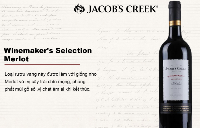 Rượu vang WineMaker's Selection Merlot