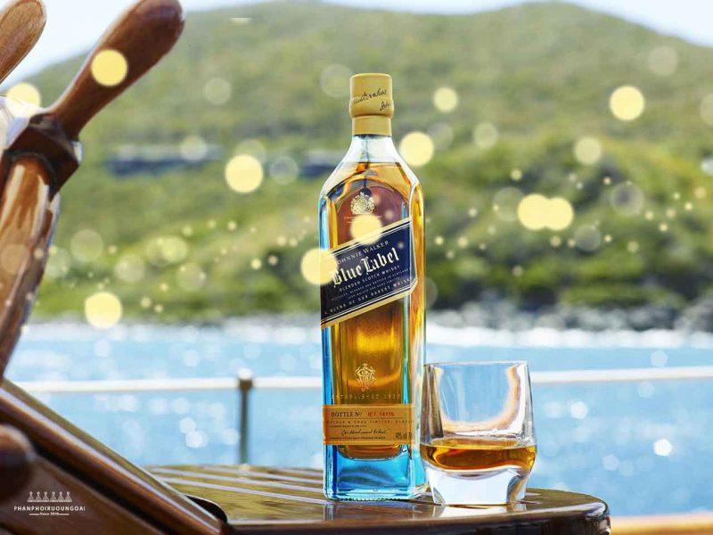 Rượu Johnnie Walker Blue Label - Rượu Whisky cao cấp cho người sành điệu