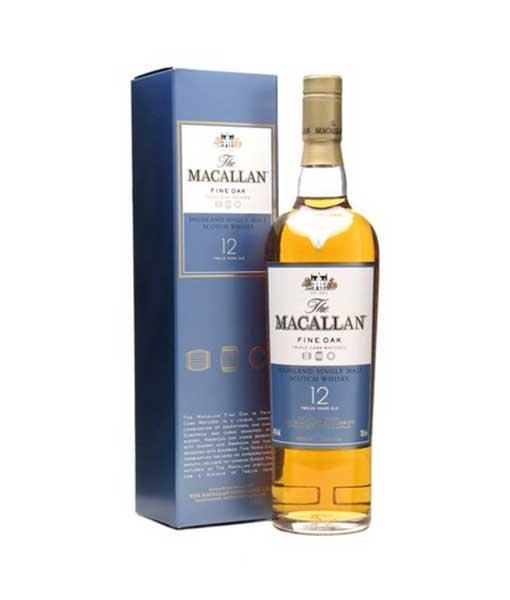 Rượu Macallan 12 năm nhập khẩu