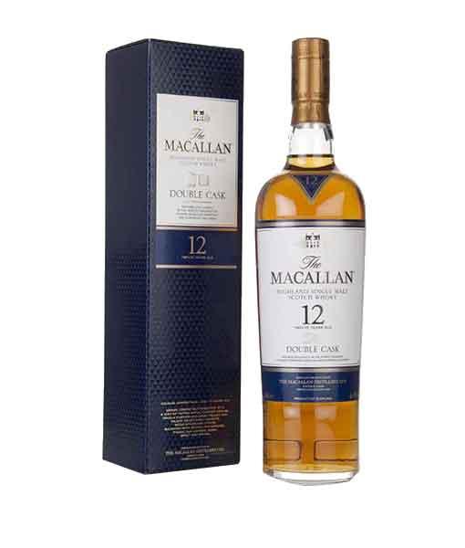 Rượu Macallan 12 Fine Oak và hộp Rượu