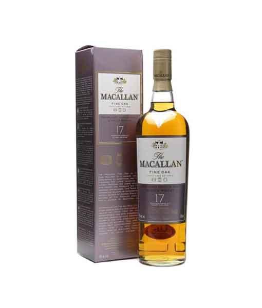 Rượu Macallan 17 Fine Oak - The Macallan
