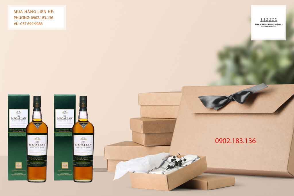 Rượu Macallan 1824 Select Oak cho biếu tặng 2020