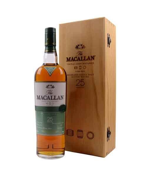 Rượu Macallan 25 năm Fine Oak