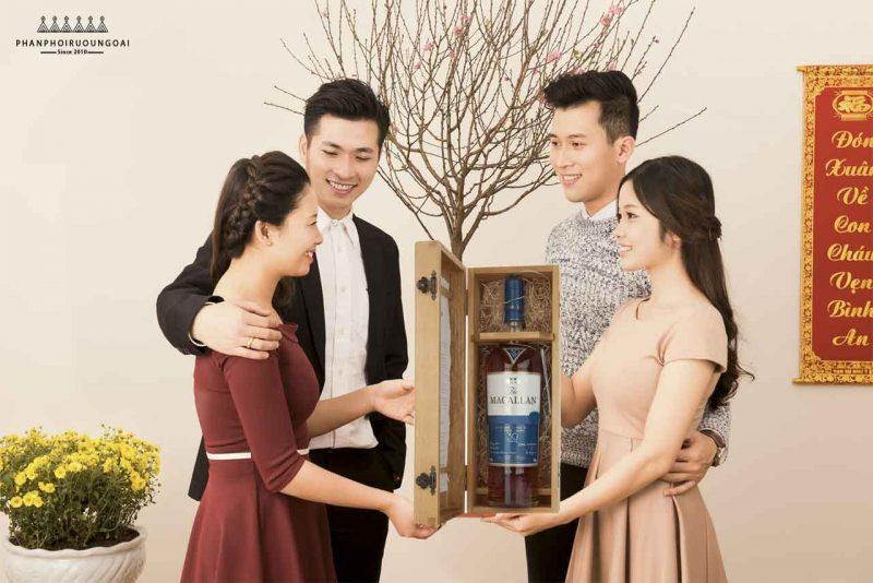Rượu Macallan 30 năm tuổi Fine Oak phù hợp cho nhà sưu tầm rượu - Biếu tặng