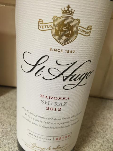Rượu vang ST Hugo Barossa Shiraz