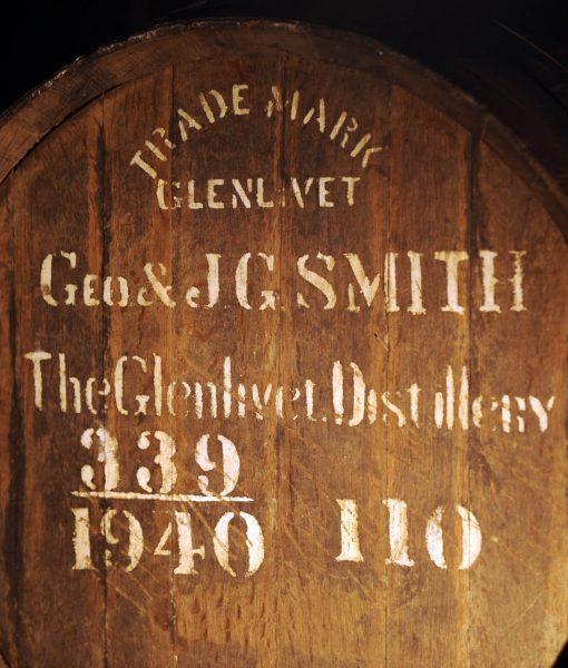 thùng gỗ dùng để ủ rượu glenlivet