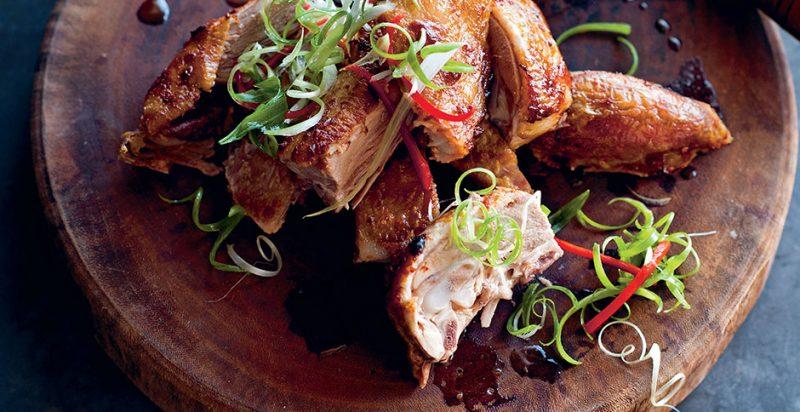 Món ăn Vịt Chao của đầu bếp Luke Nguyễn