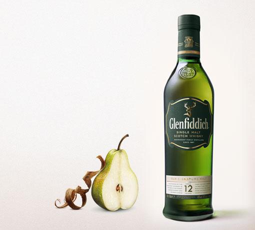 Rượu Glenfiddich 12 hương vị Lê
