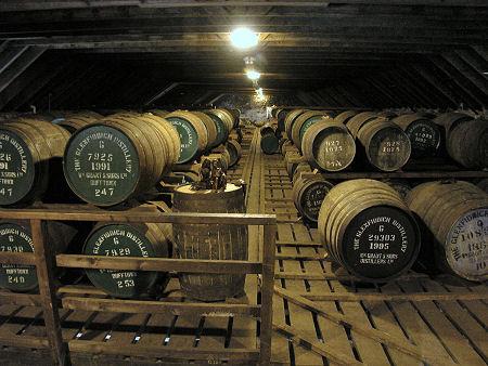 Hầm ủ rượu Glenfiddich