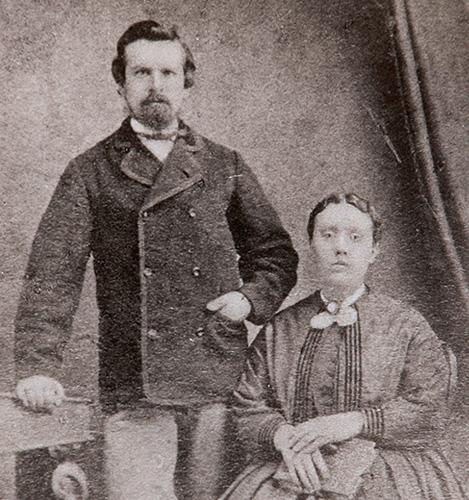 Hình ảnh William và Vợ - Người khai sinh Glenfiddich