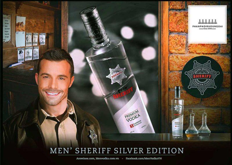 Hình ảnh quảng cáo Vodka Men Sheriff