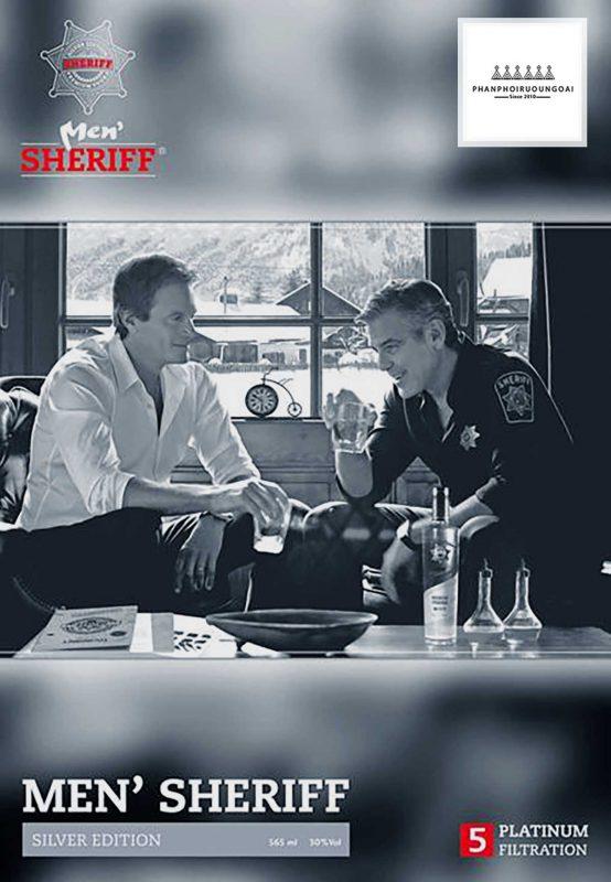 Bản lĩnh người dẫn đầu với rượu vodka Men Sheriff