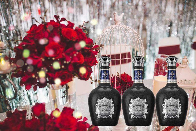 Bàn tiệc sẽ trở nên vô cùng sang trọng với rượu Chivas 32 năm