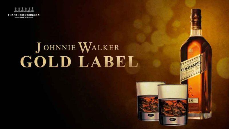 Quảng cáo ấn tượng về rượu Johnnie Walker Gold Label