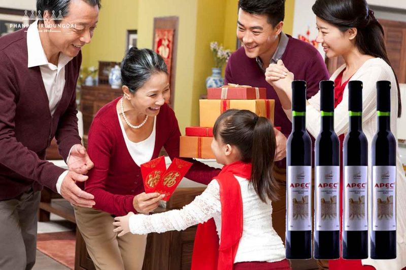 Quà biếu với rượu vang APEC 14th Cabernet Sauvignon & Merlot