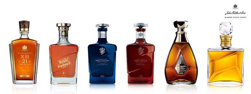 Các dòng whisky siêu sang của nhà John Walker