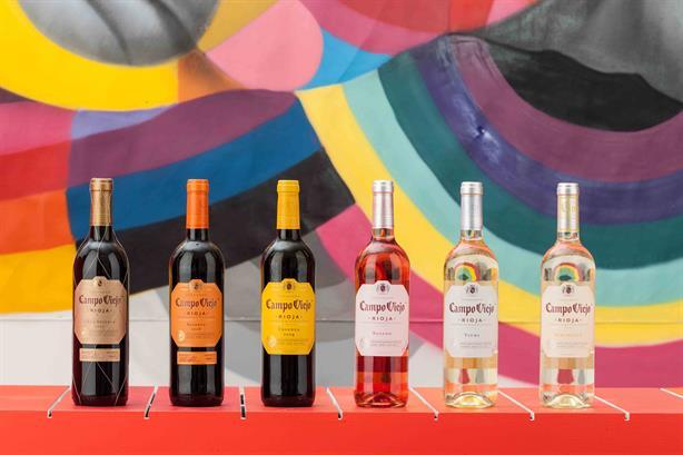Các loại rượu vang tây ban nha của nhà Campo Viejo