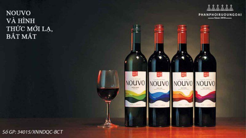 Các loại rượu vang Nouvo